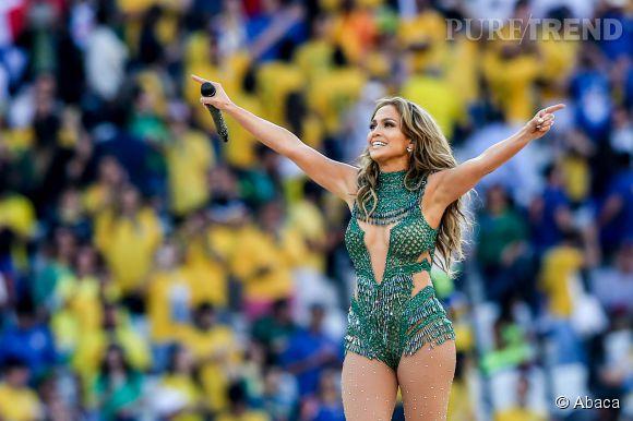 Jennifer Lopez à Sao Paulo fait le show pour la Coupe du Monde 2014.