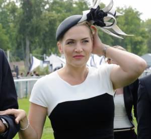 Kate Winslet : courbes et sex-appeal pour le Prix de Diane 2014