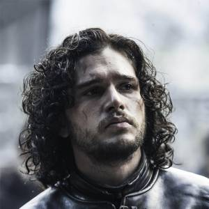 "Kit Harington dans ""Game of Thrones"" en 2014."