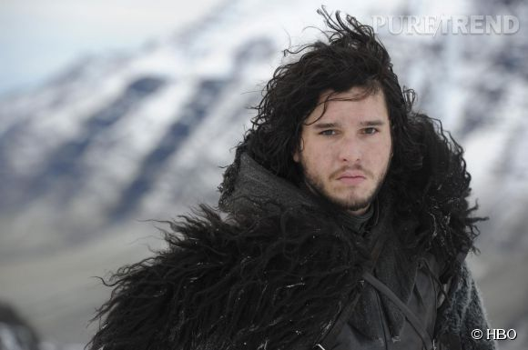 "Kit Harington dans ""Game of Thrones"" en 2012."