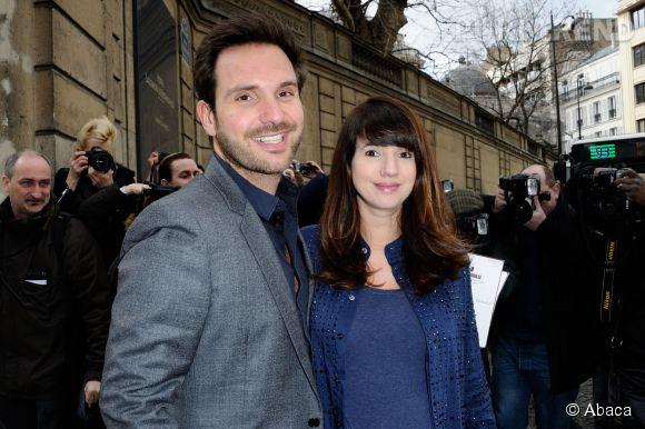 Christophe Michalak et Delphine McCarty, un couple discret.