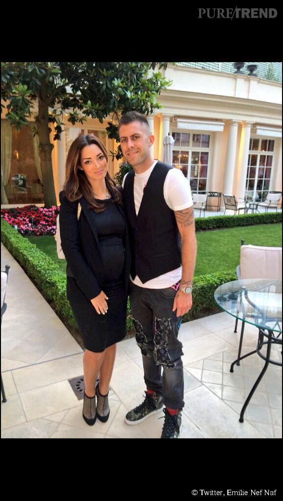 Emilie Nef Naf est enceinte de son deuxième enfant.