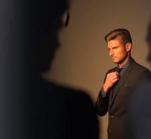 Olivier Giroud : ses 1er pas de mannequin pour Boss Parfums