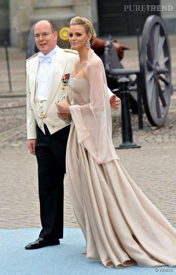 Charlene de Monaco et Prince Albert, très excités par l'arrivée du bébé.