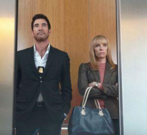 "Dylan McDermott et Toni Collette dans ""Hostages""."