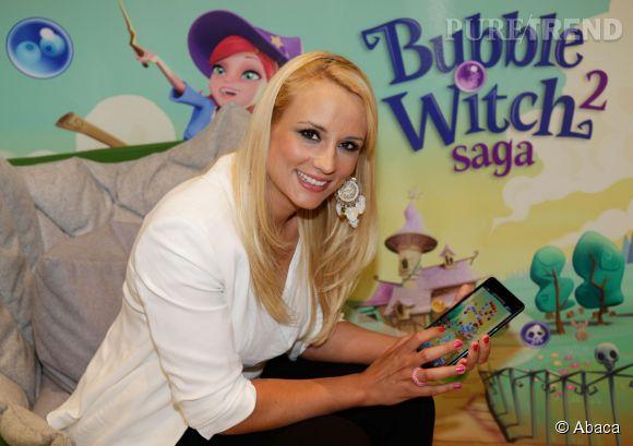 Elodie Gossuin est l'égérie du nouveau jeu développé par King : Bubble Witch Saga 2. Mais comment trouve-t-elle le temps de jouer à son appli ?