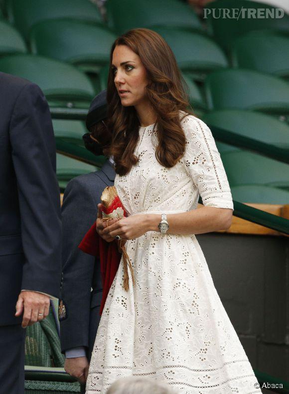 Robe blanche wimbledon