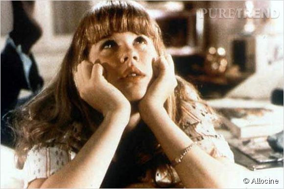 "Linda Blair, la gamine possédée de ""L'Exorciste"" e, 1973."