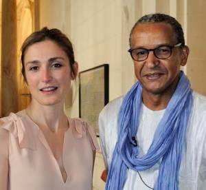 Julie Gayet, lumineuse pour la soirée hommage à Abderrahmane Sissako