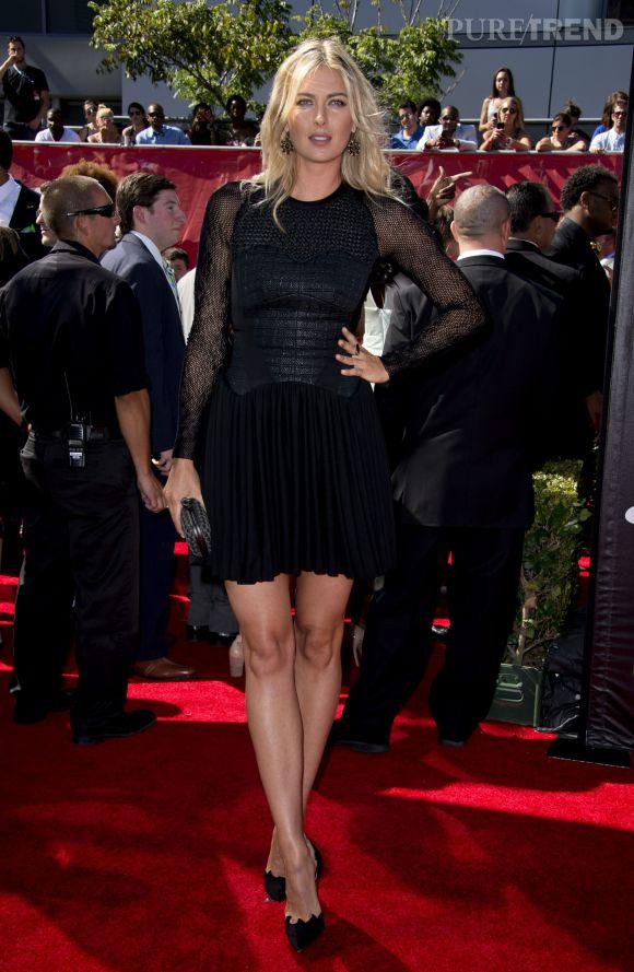 Maria Sharapova lors des ESPY 2014 au Nokia Theatre de Los Angeles le 16 juillet 2014.