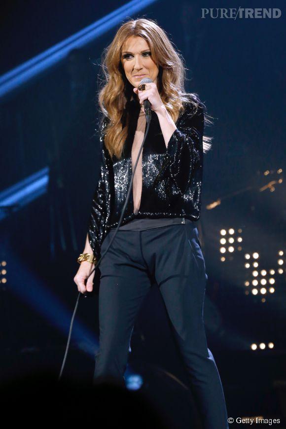 Céline Dion, bête de scène, malgré la maladie de René.