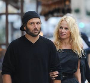 Pamela Anderson baisers passionnés avec son futur ex-mari, bye bye le divorce !