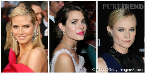Heidi Klum, Charlotte Casiraghi, Diane Kruger, leurs obsessions bijoux.