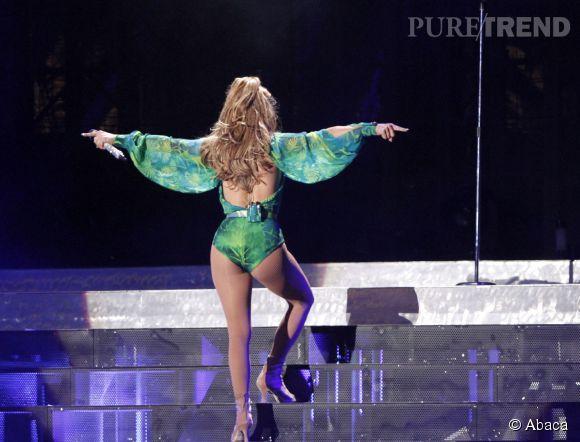 Jennifer Lopez en Versus en 2014.