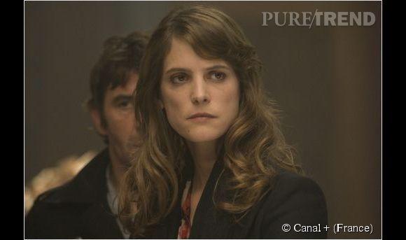 """Hélène Fillières est Sandra Paoli, chef de clan dans """"Mafiosa""""."""