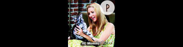 Phoebe et sa mère le chat.