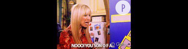 Phoebe Buffay craque.