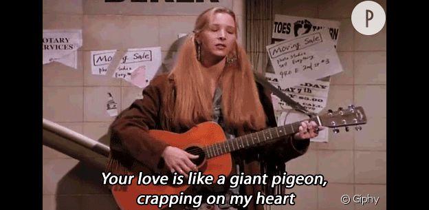 Phoebe Buffay chanteuse.