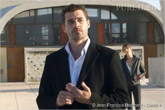 """Thierry Neuvic, voyou dans la série """"Mafiosa"""" de Canal+."""