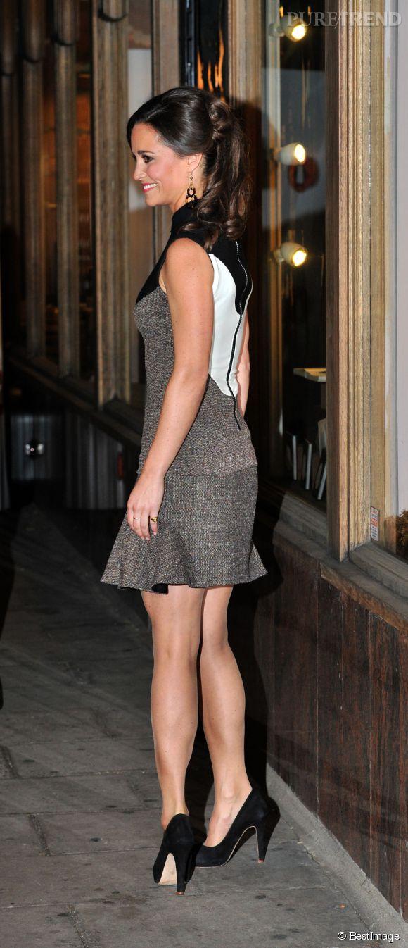 Pippa Middleton et son fessier sont mondialement connus depuis le mariage de sa  soeur  Kate ont-ils du souci à se faire ?