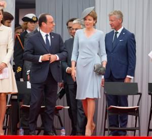 François Hollande était plutôt bien entouré ce jour-là.