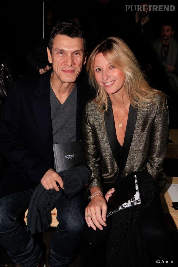 Marc lavoine et sa femme sarah lavoine en janvier 2013 - Marc et sarah lavoine ...