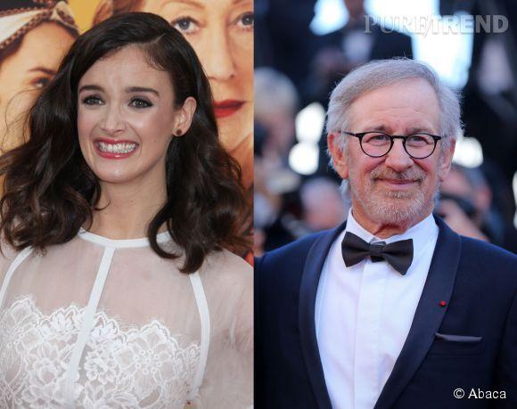 Charlotte Le Bon n'en revient pas, elle a skypé avec le grand Steven Spielberg!