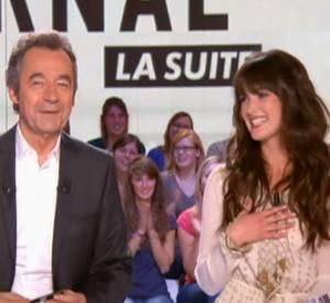 """Charlotte Le Bon s'est fait repérer grâce à ses sketchs dans le""""Grand Journal"""" sur Canal+."""