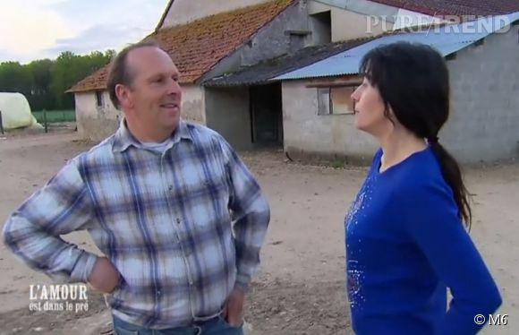 """Contre toute attente, Isabelle annonçait à Thierry son départ de la ferme dans l'épisode de ce lundi 11 août 2014 de """"L'amour est dans le pré""""."""