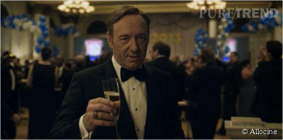 """Kevin Spacey dans """"House of Cards""""... Tous les coups sont permis."""