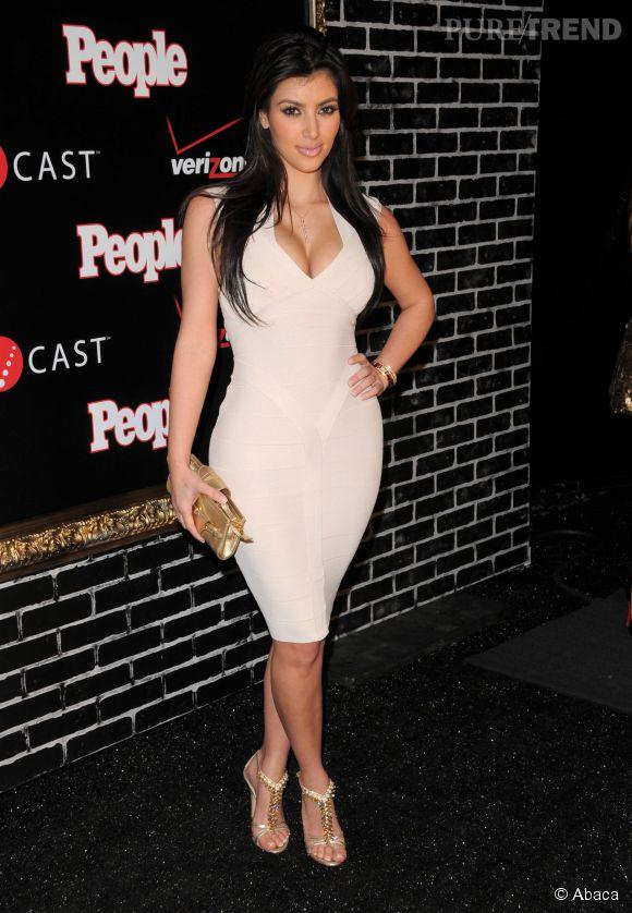 Kim Kardashian, son passé avant la chirurgie... mais déjà fana de nude.