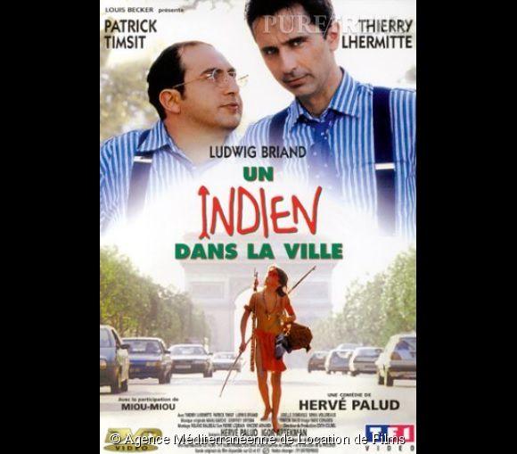 """Thierry Lhermitte, Patrick Timsit et Ludwig Briand dans """"Un Indien dans la ville"""", un carton en salles avec près de 8 millions de spectateurs."""
