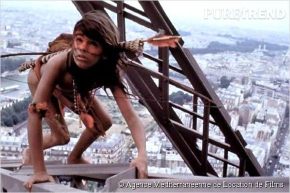 """Mimi Siku, alias Ludwig Briand, dans """"Un Indien dans la ville"""", sorti en 1994."""