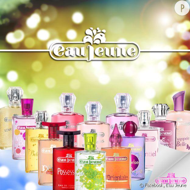 Les parfums Eau Jeune.