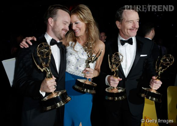 """Breaking Bad"" s'impose aux Emmy Awards 2014."