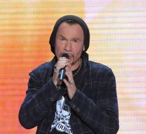 Florent Pagny est un chanteur à grande gueule.
