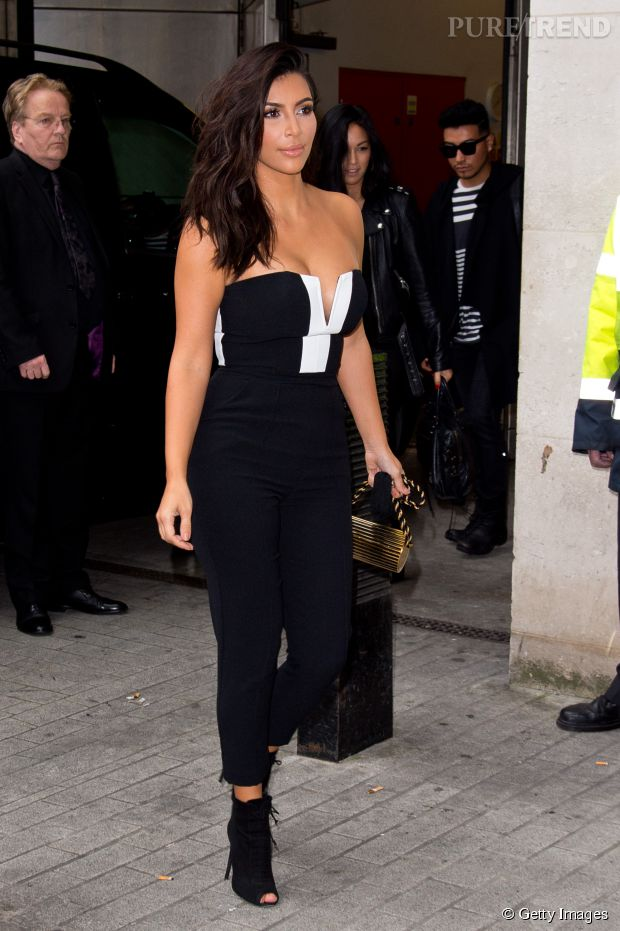 Kim Kardashian Toute En Courbes 5 Bonnes Raisons D 39 Adopter La Combi