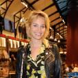 Pauline Lefèvre était magnifique hier au lancement de la nouvelle collection d'Inès de la Fressange pour Uniqlo.