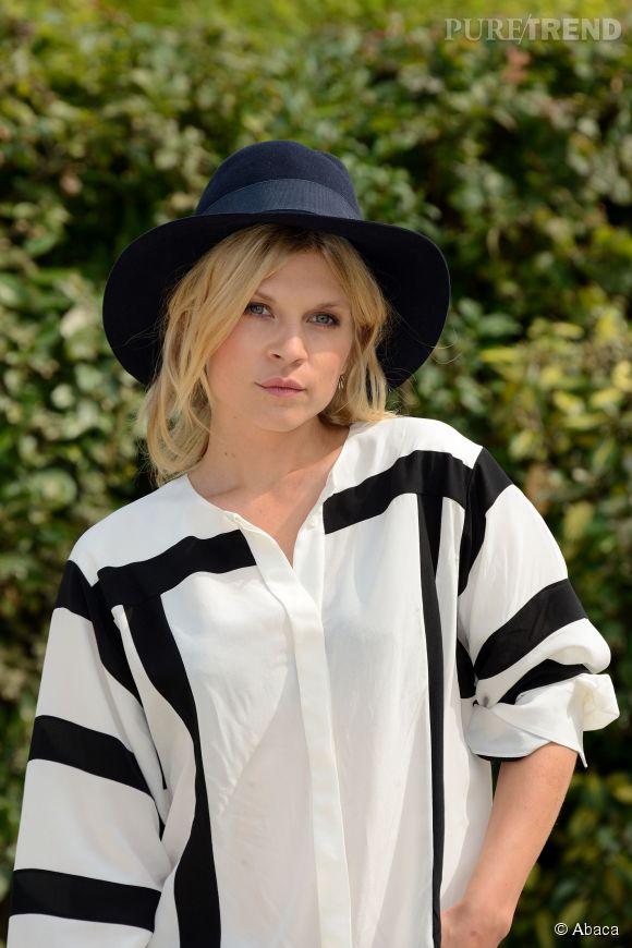 Clémence Poésy à Deauville, une jolie blonde qui fait mouche.