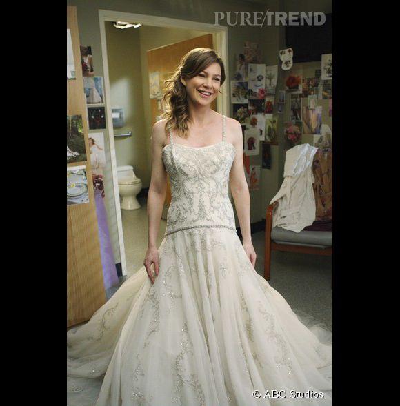 """Ellen Pompeo dans la série à succès """"Grey's Anatomy""""."""