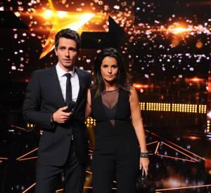 """Guillaume Pley et Faustine Bollaert présenteront """"Rising Star"""" à partir du 25 septembre."""