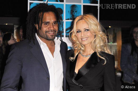 Adriana Karembeu et son mari Christian en 2011. Ils étaient mariés depuis 1998. La belle se fait encore appeler Karembeu.