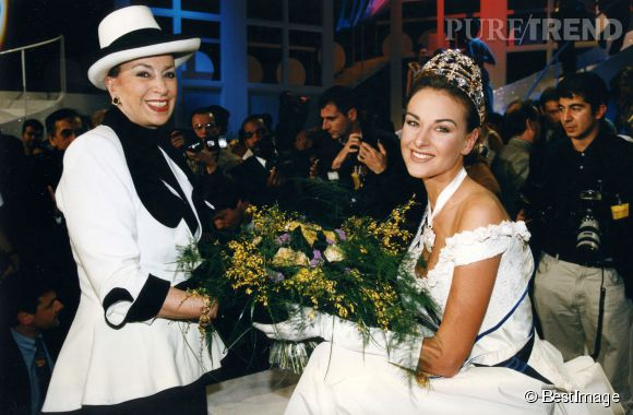 Geneviève de Fontenay et Patricia Spehar, Miss France 1997 !