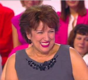 """Roselyne Bachelot tâcle """"C à Vous"""" après son cadeau coquin à Anne-Sophie Lapix"""