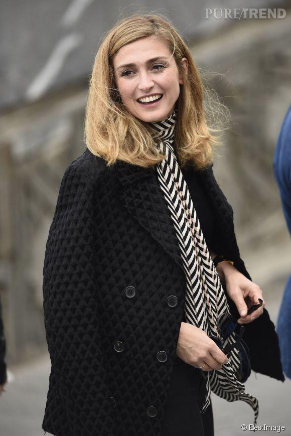 """Julie Gayet sera prochainement au casting d'un épisode de """"Profilage"""", sur TF1."""