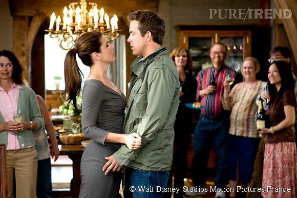 """Sandra Bullock et Ryan Reynolds dans """"La Proposition"""" d'Anne Fletcher."""
