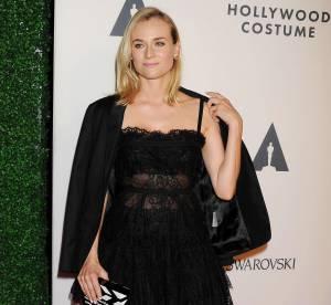 Diane Kruger, robe transparente et talons sexy... Un look du soir à copier !