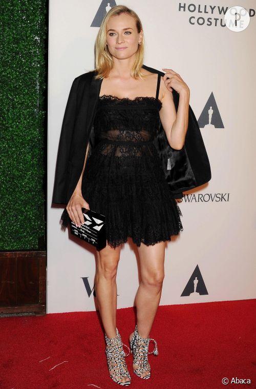 Diane Kruger, 100% mode à la soirée de lancement de saison de l'Académie des arts et des sciences à Hollywood.