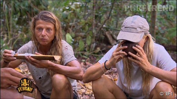 """C'est étonnamment Sara qui s'est fait éliminer de """"Koh-Lanta"""" alors que c'est Florence qui agace ses coéquipiers."""