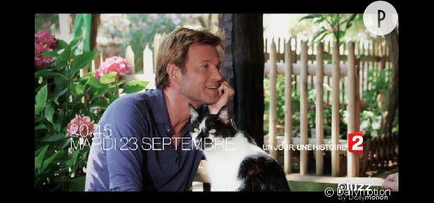 Laurent Delahousse aime les chats !